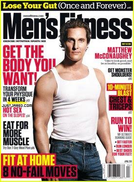 matthew mcconaughey mens fitness april 2011