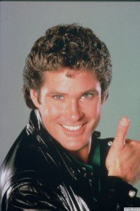 david hasselhoff as michael knight in knightrider thumbs up 200x300 1