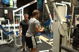 Nick Tuminello Workout Video Cable Triceps Pushdown 003 WEB
